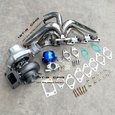 GT3582 Turbo + 38mm Wastegate + Manifold For Nissan Skyline R32 R33 R34 RB25DET