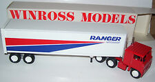 1984 Ranger Nationwide Winross Diecast Trailer Truck