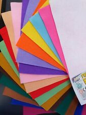 Craft Planet A4 Acrylic Felt Sheets - Multi-buy Discount - 19 colours available