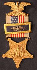 Original Vintage GAR Civil War Veteran's Pin with Colonel Bar