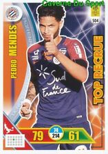 504 PEDRO MENDES MONTPELLIER.HSC TOP RECRUE CARTE ADRENALYN 2018 PANINI
