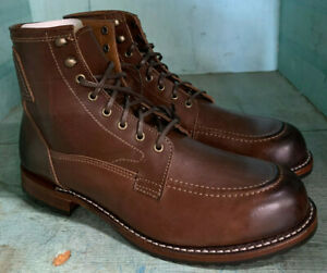 Orvis Moc Toe Lace Up Size 10 D Made in USA