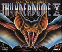 THUNDERDOME X 10 = Prophet/Weirdo/Waxweazle/Buzz...=2CD= HARDCORE GABBER!!!