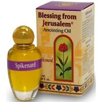 Blessing from Jerusalem Anointing oil - 10ml ( .34 fl. oz. ) (Spikenard)