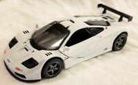 Kinsmart - 1:34 Scale Model 1995 McLaren F1 GTR White (BBKT5411DW)
