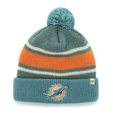 NFL Wollmütze/Wintermütze MIAMI DOLPHINS Pom fairfax cuffed knit hat Pommel