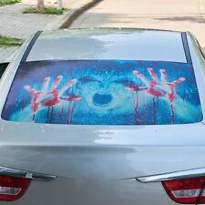 3D Transparent Car Back Rear Window Decal Vinyl Sticker Horror Monsters Zombie