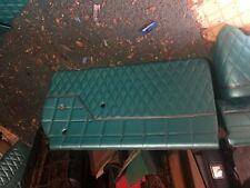 1962 Chevy Impala door panel kit with trim turquoise diamond cut