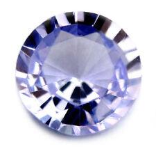 Certified Natural Ceylon Sapphire 0.40ct VVS Light Blue 4.56mm Round Sri Lanka