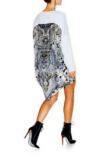 new CAMILLA FRANKS SILK COTTON CRYSTALS HUSH HUSH JUMPER layby avail