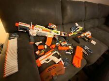 NERF Modulus Bundle - ECS-10, Recon MKII, Ionfire - Complete With Attachments