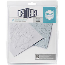 "We R Next Level Embossing Folders 6""X6"" 2/Pkg-Bouquet by We R Memory Keepers"