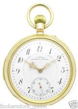J. Assmann Glashütte minutenrepetiton orologio da tasca in 18ct oro di 1908 RARO