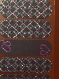 Jamberry Wrap Half Sheet - FADV Rise Up Barcode Side - Charity Domestic Violence