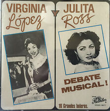 Virginia Lopez Julita Ross Debate Musical Bolero CD FUENTES 92 Puerto Rico MINT
