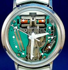 Bulova Accutron 214 Spaceview custom stainless steel FULLY SERVICED matched band