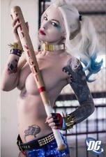 Hot Harley Quinn Suicide Squad New Sexy Comic Girl Anime Art Silk Poster