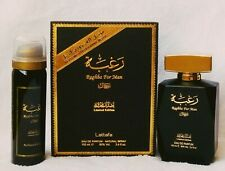 Raghba for Man 100ml EDP With Mini Deo 50ml by Lattafa Perfumes - AU SELLER