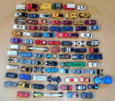 Huge Lot 87 Hot Wheels, Matchbox, Maisto, Mattel Metal Die Cast & Plastic Cars +