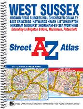 West Sussex Street Atlas by A-Z MAps (Spiral)
