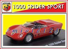 ABARTH COLLECTION : 1/43 - Fiat Abarth 1000 Spider Sport - 1963 - Die-cast