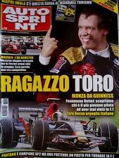Autosprint 38 2008 Inserto Guida al Mondiale Turismo. Massa e Hamilton SC.58