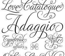 102,000 Creative Designer Fonts+Gothic+Graffiti and many more  *DVD* Mac&Windows