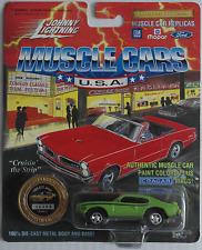 Johnny Lightning -'69/1969 Pontiac GTO Judge Neon Verde Nuovo/Scatola Originale