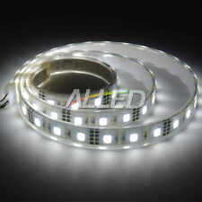 12V Flexible Waterproof 5050-SMD LED Strip Light Cool White Car Boat Camper RV
