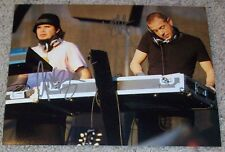 THIEVERY CORPORATION SIGNED AUTOGRAPH 8x10 PHOTO E w/PROOF ROB GARZA ERIC HILTON