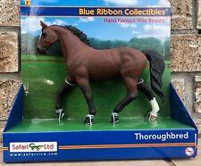 Safari Ltd Blue Ribbon Horses RETIRED Thoroughbred Stallion Horse 30024 NEW