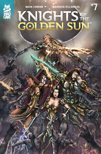 KNIGHTS OF THE GOLDEN SUN #7 VILLARREAL COVER MAD CAVE COMICS INDY