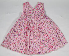 NWT Plum Pudding Lilac Square Neck Floral Dress Baby girl/'s 2y 3y 4y Made in USA