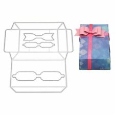 Bow Box DIY Cutting Dies Stencil Scrapbooking Paper Card Embossing Craft