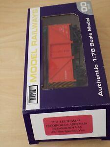 2005 O. Leetham Dapol Immingham Orange Breakdown Packing Van ADB975329, No Cert