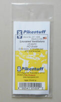 Louvered Ventilators HO 1:87 SCALE LAYOUT DIORAMA PIKESTUFF RIX 1009