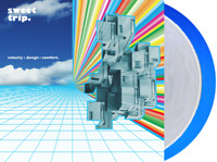 Sweet Trip - Velocity Design Comfort Exclusive Clear & Blue 2x Vinyl LP #/1000