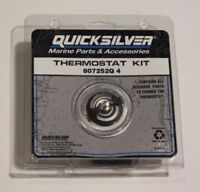 Cooling New Thermostat Kit quicksilver 807252q 4 GM V-6//V-8 1983 /& later w// Std