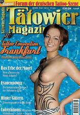 Tätowier Magazin 8/2000 August,Magier Motive,John Saletra,Elisa,München,Zürich