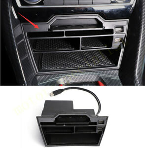 Black Dashboard Increase Storage Box Cover For Honda Civic Hatchback 2017-2021
