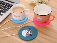 Cup Warmer USB Silicone Heater For Tea Baby Milk Coffee Mug Hot Drink Cartoon