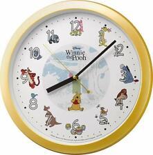 Japan Disney Character Wall Clock Winnie the Pooh F/S