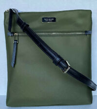 New Kate Spade New York Dawn Flat Crossbody Nylon handbag Sapling
