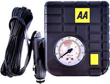 Car Van Tyre Inflator Kit Compact Electric Pump Inflators Pumps Travel AA 12V