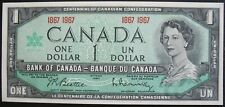 1967 Bank of Canada One Dollar Note
