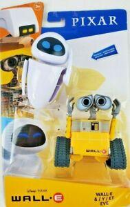 Disney Pixar Wall-E And Eve Action Figure Robot Toys Pixar Movie Posable NEW