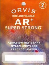Orvis AR+ Super Strong Abrasion Resistant Leader 2 Pack 8/10/20 New Bulk Sale