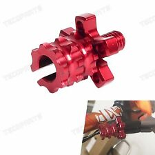 CNC Billet Brake Clutch Cable Wire Adjuster Motorcycles Pit Dirt Bike for Honda