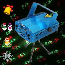 6 in 1 Projector R&G DJ Disco Light Stage Lighting Xmas Party Laser Show Club