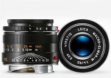 New Leica Macro-Elmar-M 90mm F/4 E39 #11670 Current Version M10 M9P M240P M-P